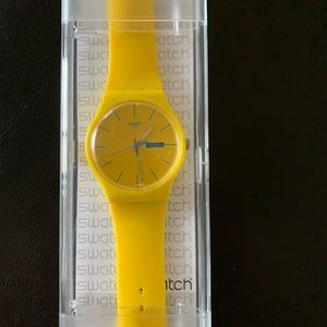 SWATCH YELLOW - with box